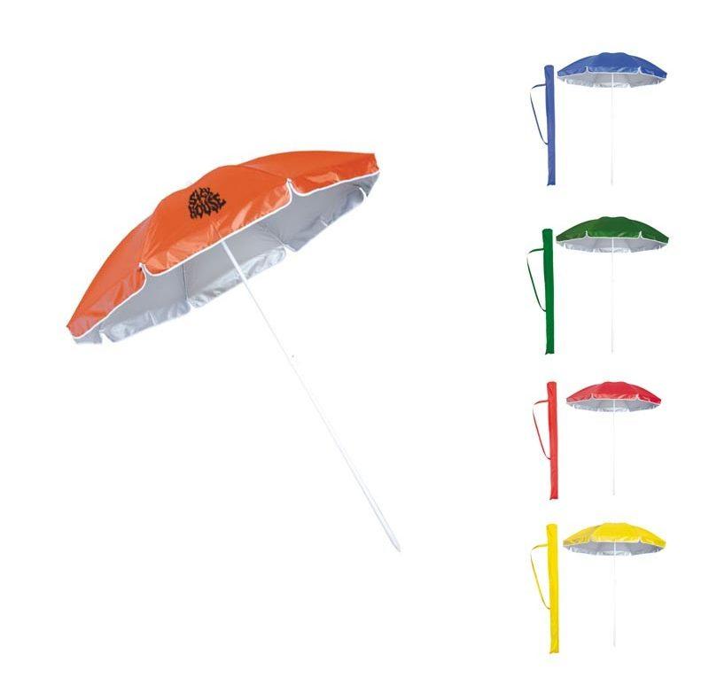 parasol publicitaire plage
