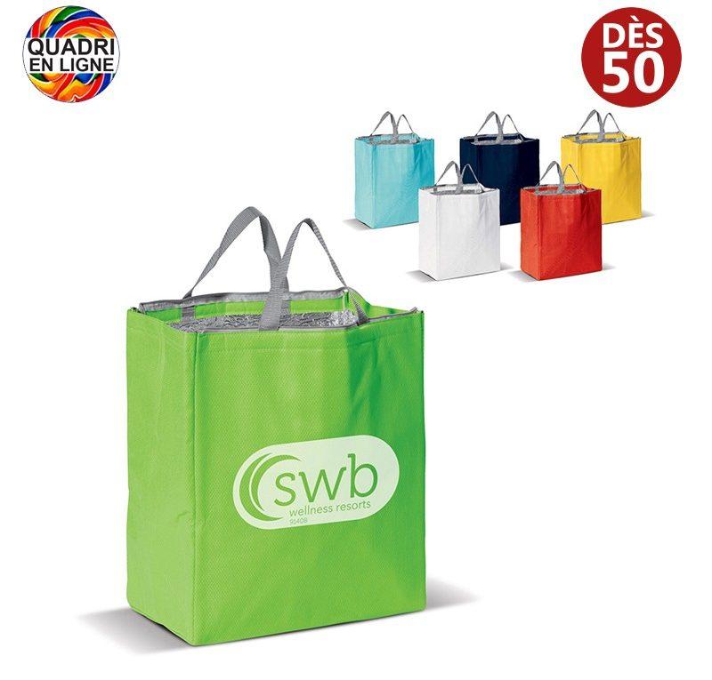 sac publicitaire Cadeauweb avec logo entreprise, association